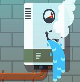 7 علت آب دادن پکیج و راهکارهای برطرف کردن آن